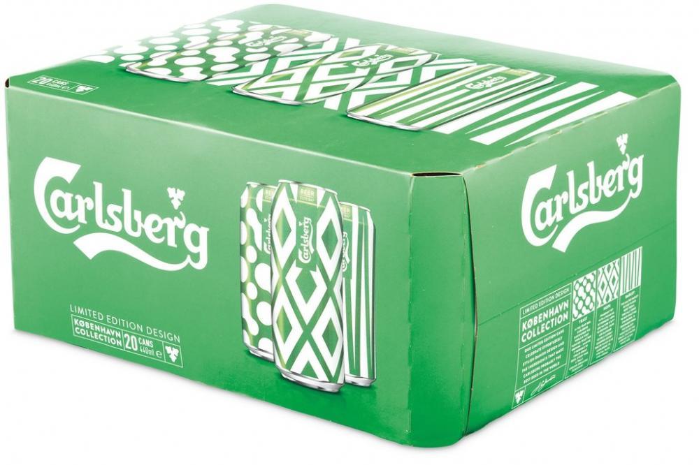 CASE PRICE  Carlsberg Lager 440ml x 20