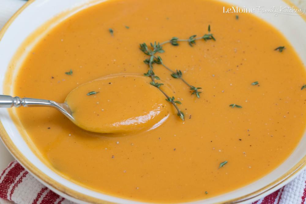 De Identified Butternut Squash and Sweet Potato Soup 400g