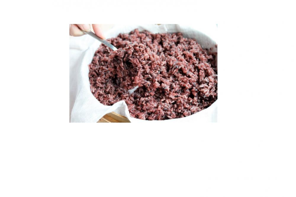De Identified Purple Rice Pot 90g