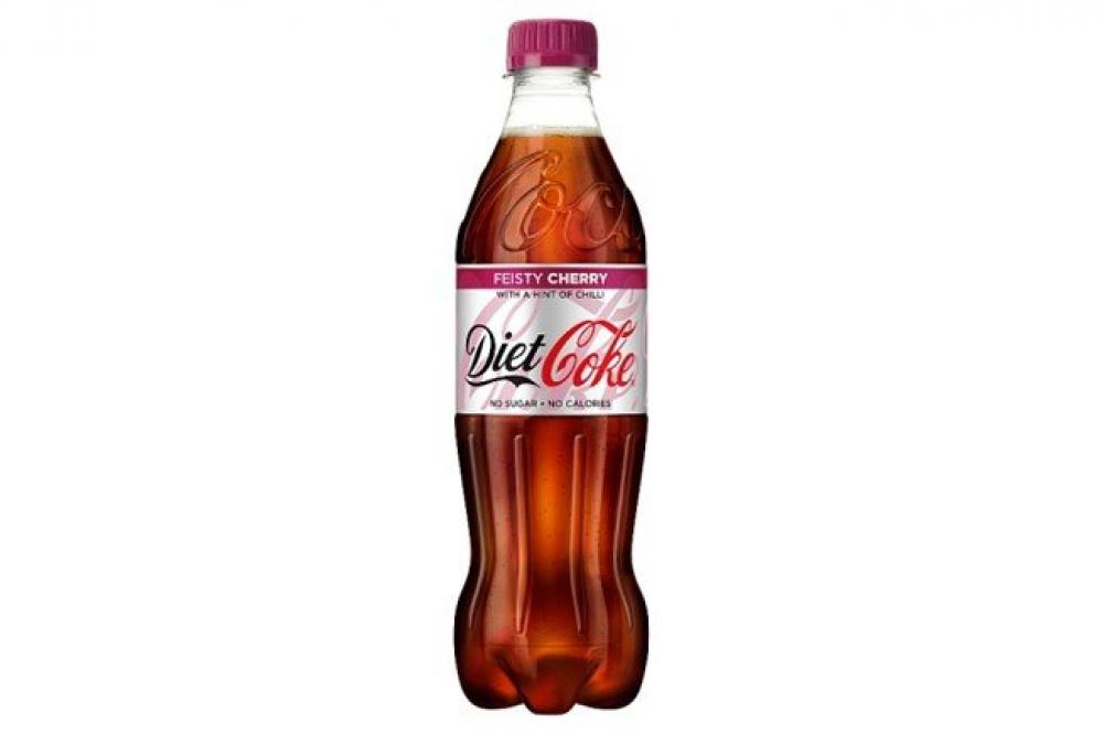Diet Coke Feisty Cherry 500ml