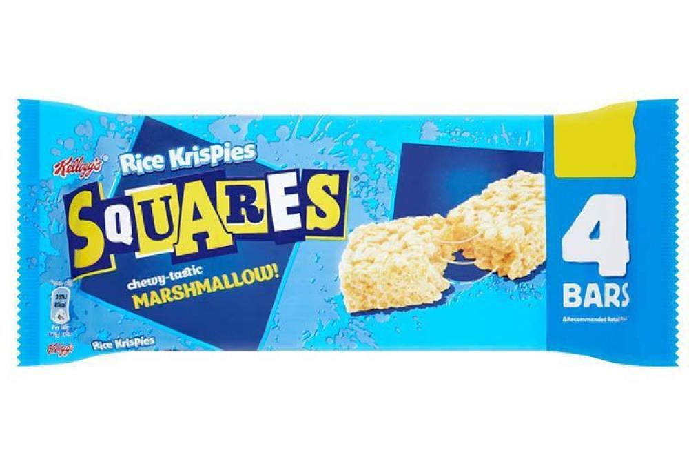 Kelloggs Rice Krispies Squares Chewy Marshmallow 20g x 4