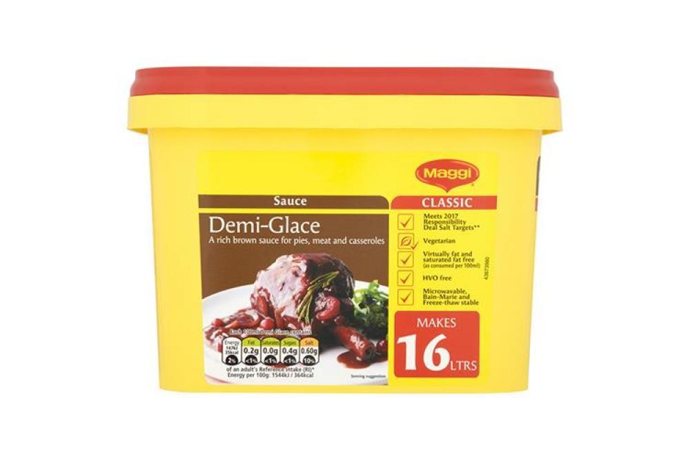 SALE  Maggi Demi-Glace Sauce 1.52 kg