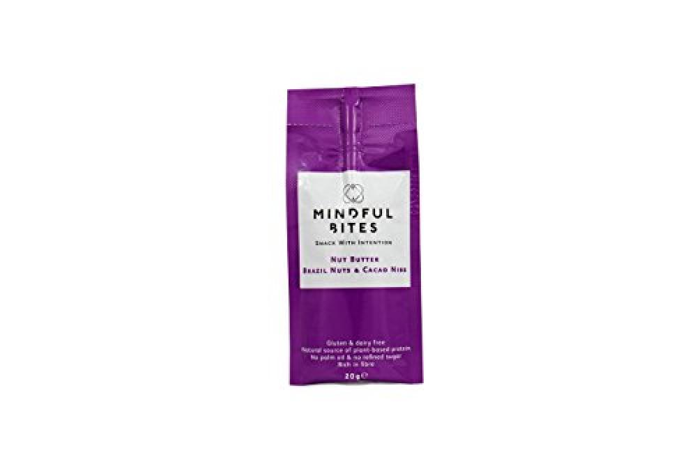 Mindful Bites Brazil and Cacao Nibs Nut Butter Sachet 20g