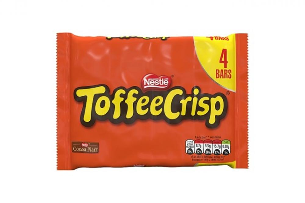 Nestle Toffee Crisp 4 x 31g