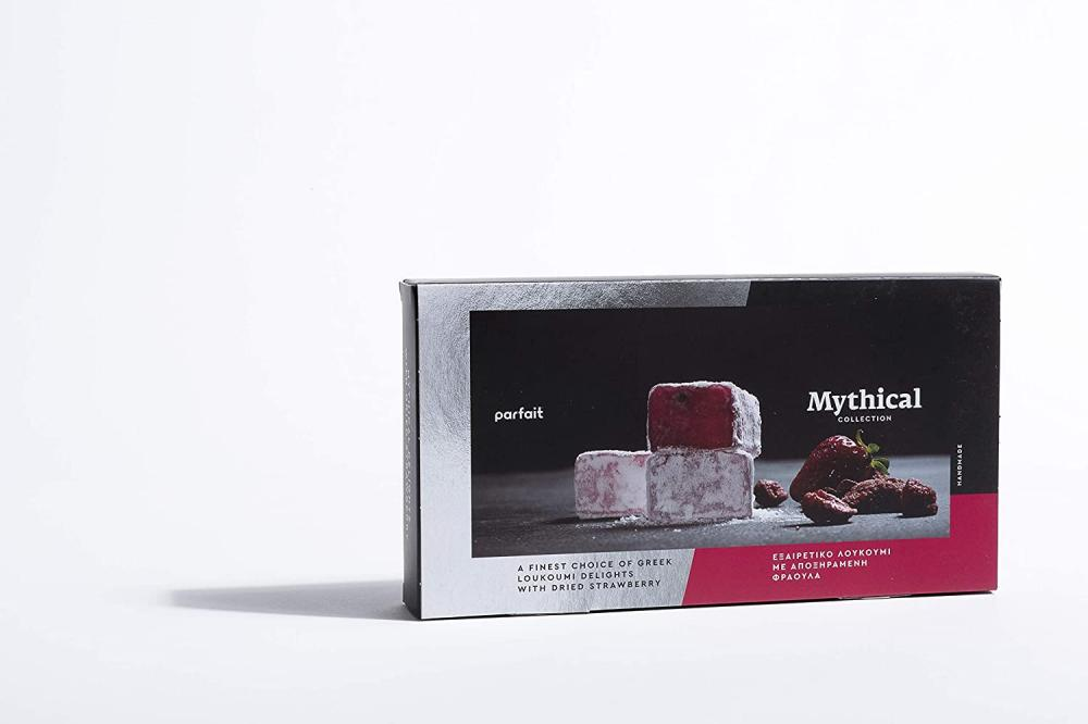 Parfait Mythical Collection Dried Strawberries Loukoumi 200g