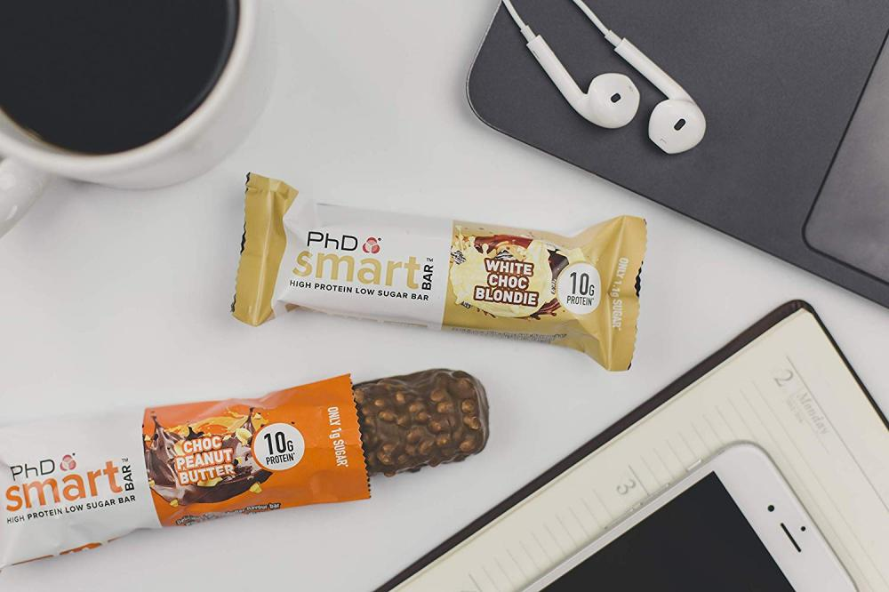PhD Smart Bar-High Protein Low Sugar Bar White Choc Blondie 32 g