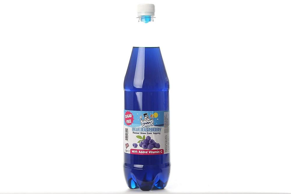 Snowycones Blue Raspberry Flavour Snow Cone Topping 1L