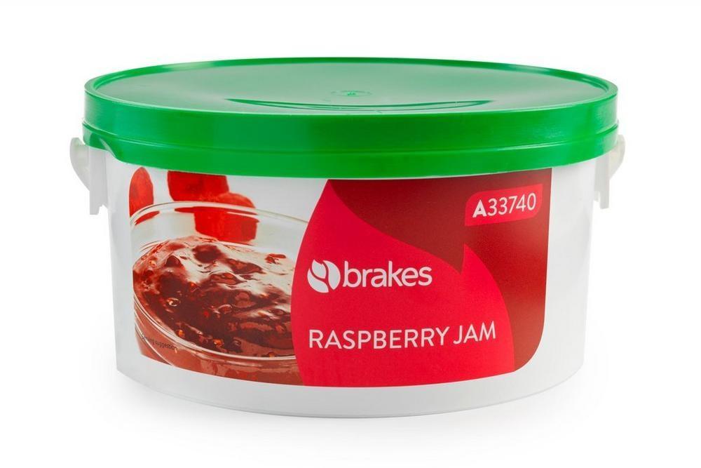Brakes Raspberry Jam 2.27kg