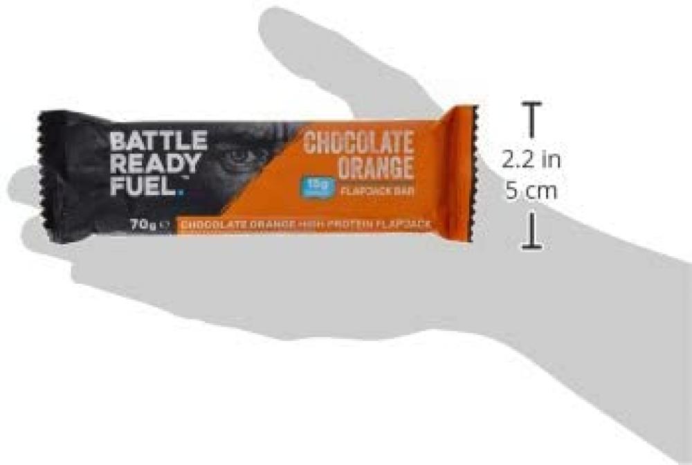 Battle Ready Fuel Chocolate Orange Flapkack Bar 70 g