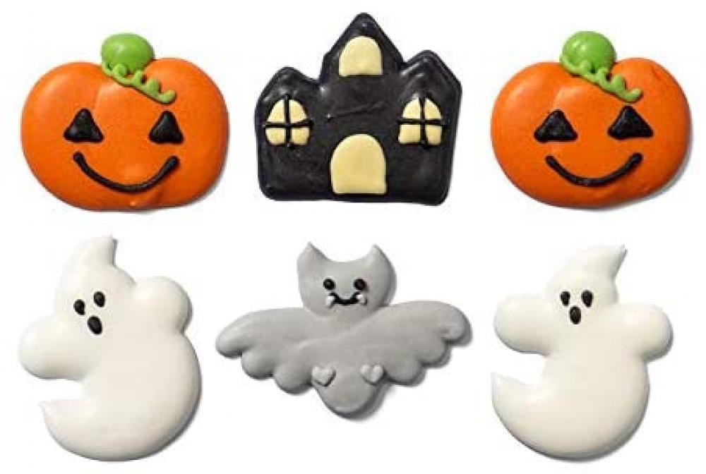 Decora Halloween Fantasy Sugar Decorations 6 Pcs