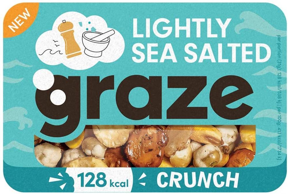 Graze Lightly Sea Salted Crunch 31 g