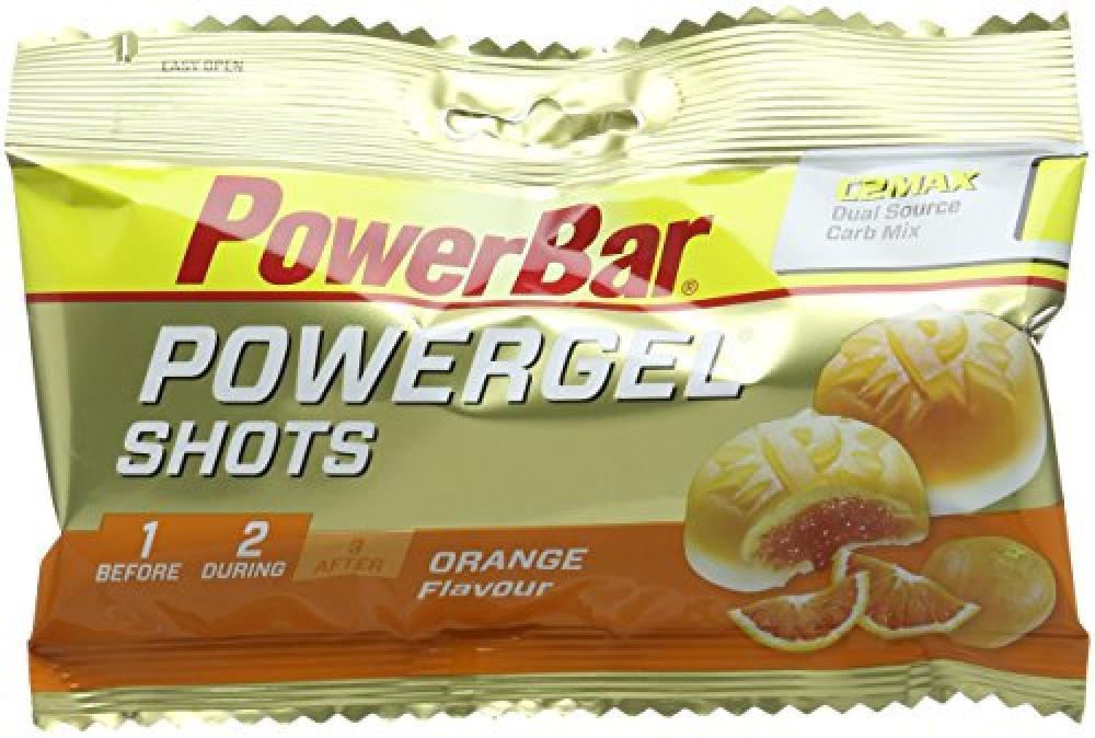 Power Bar PowerGel Shot Pouch - Orange Flavour 60 g