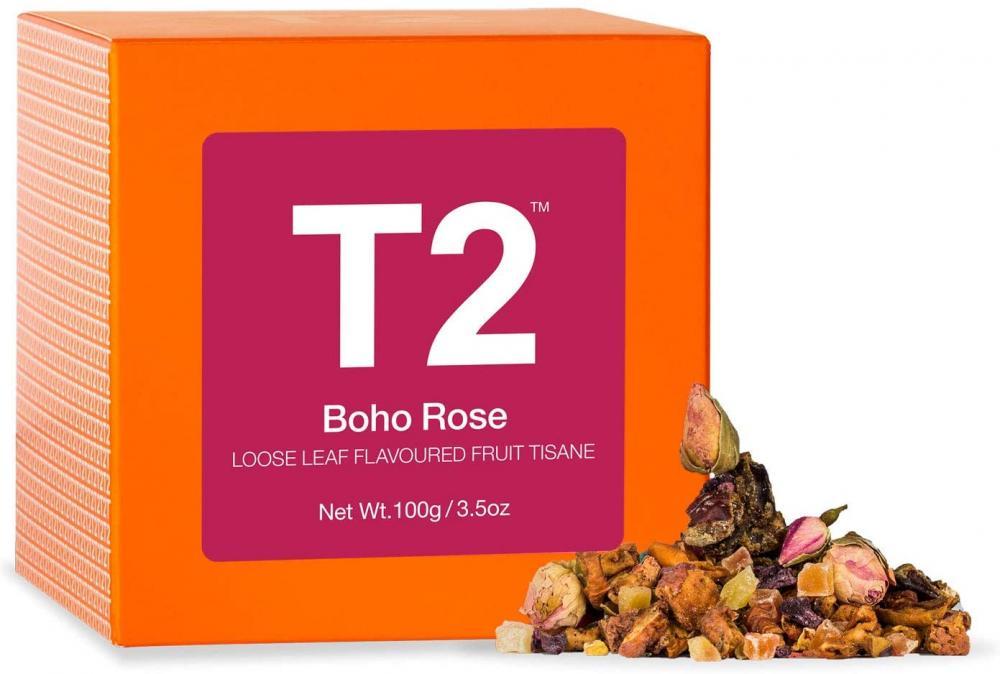 T2 Tea Boho Rose Fruit Tea 100g