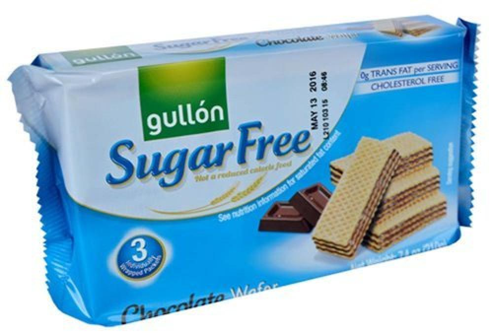 Gullon Sugar Free Chocolate Cream Wafers 210g