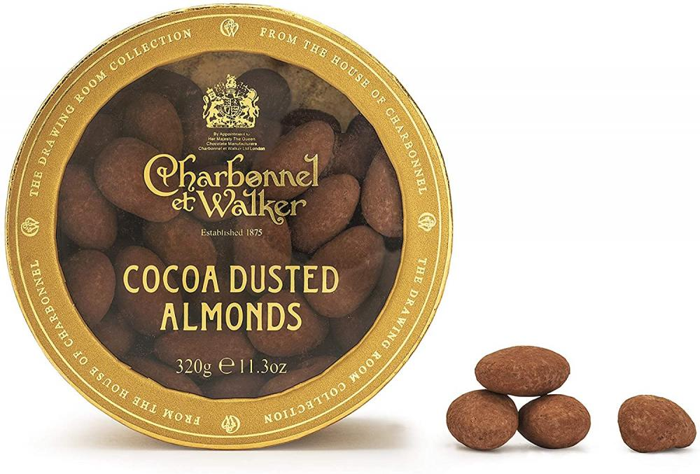 Charbonnel Et Walker Cocoa Dusted Almonds 320 g
