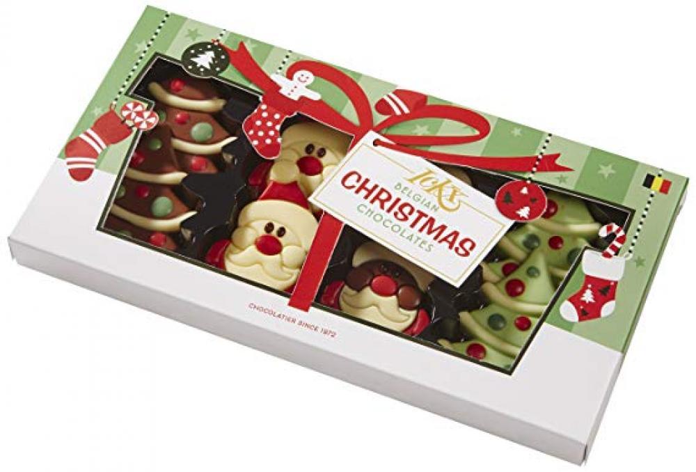 Ickx Belgian Christmas Chocolates 95g