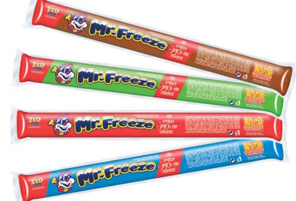 Mr Freeze Super Size Freezepops LUCKY DIP 90ml