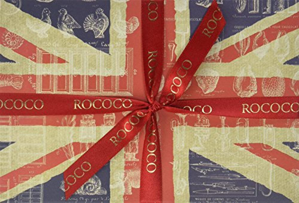 Rococo Chocolates Large Union Jack Selection Box 240 g