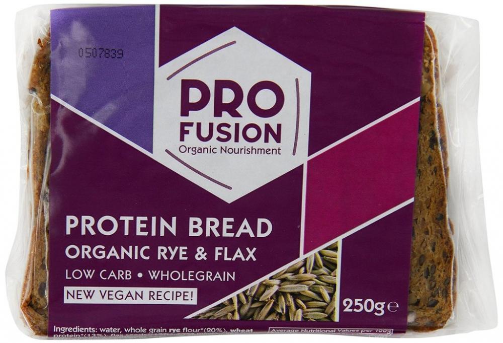 Pro Fusion Organic Protein Bread 250g