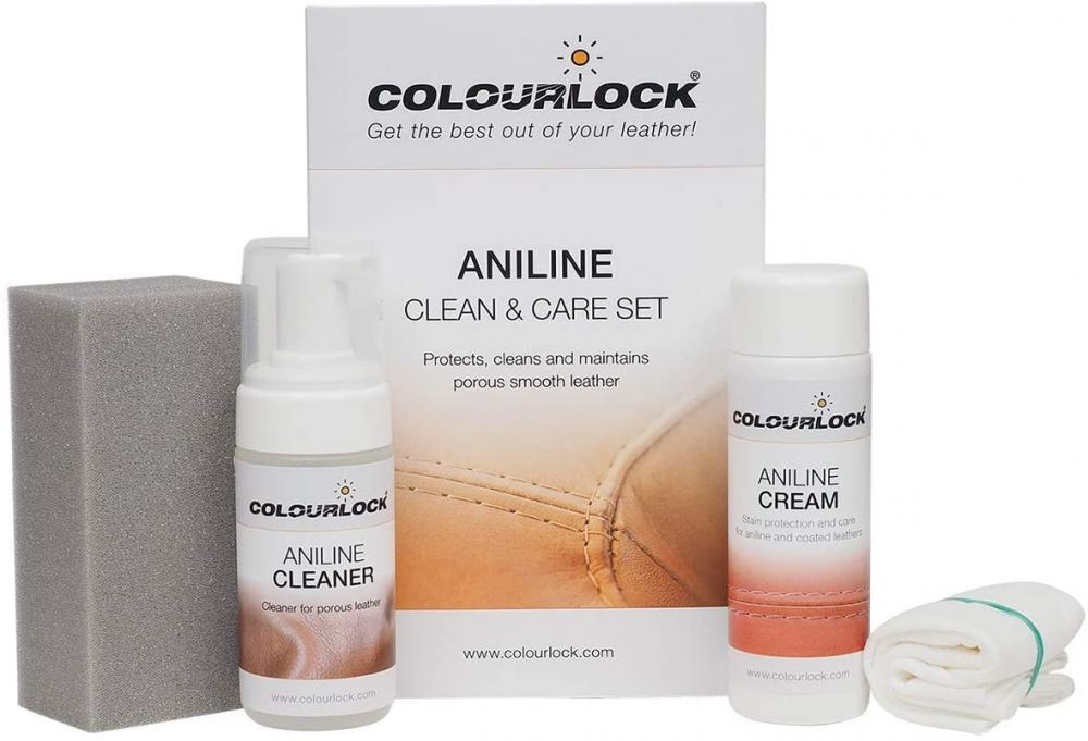 ColourLock Aniline Leather Cleaning and Care Kit to Protect and Waterproof
