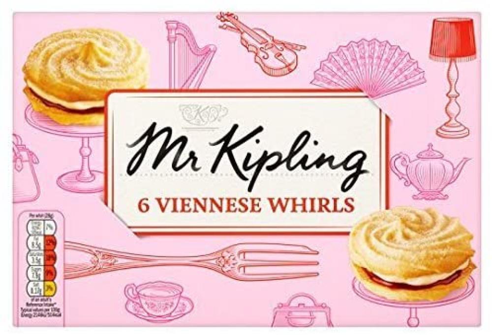 Mr Kipling 6 Viennese Whirls
