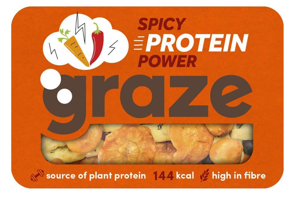 Graze Spicy Protein Power 32g