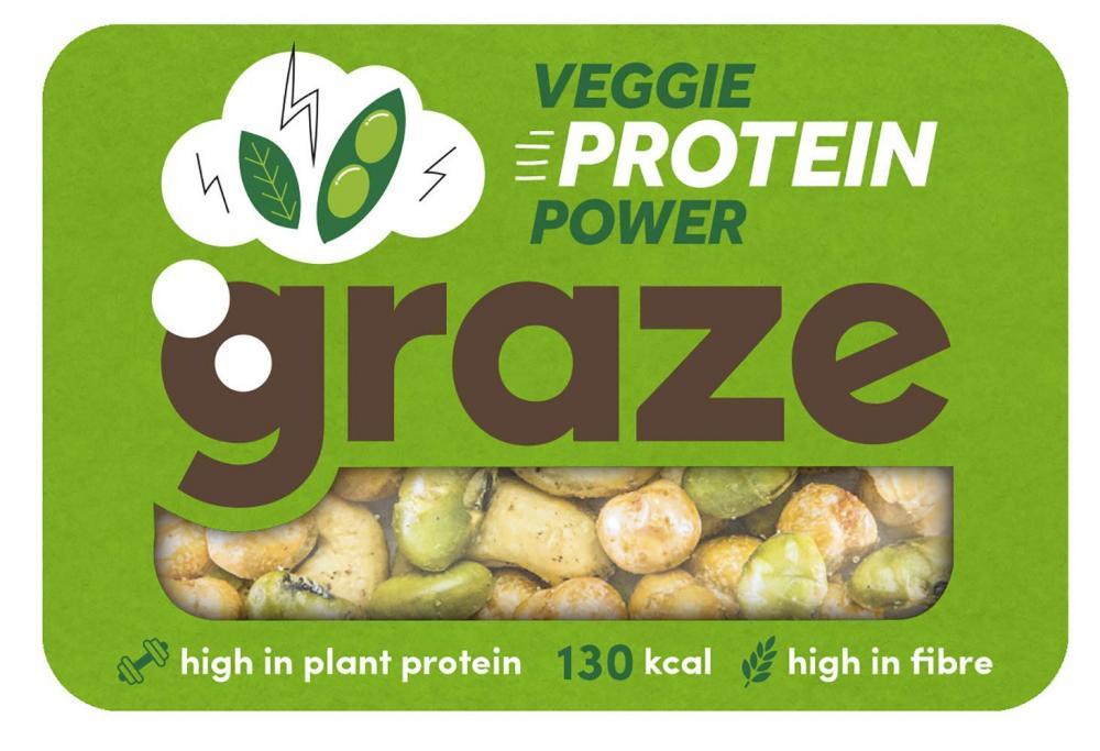 Graze Veggie Vegan Protein Power 28g