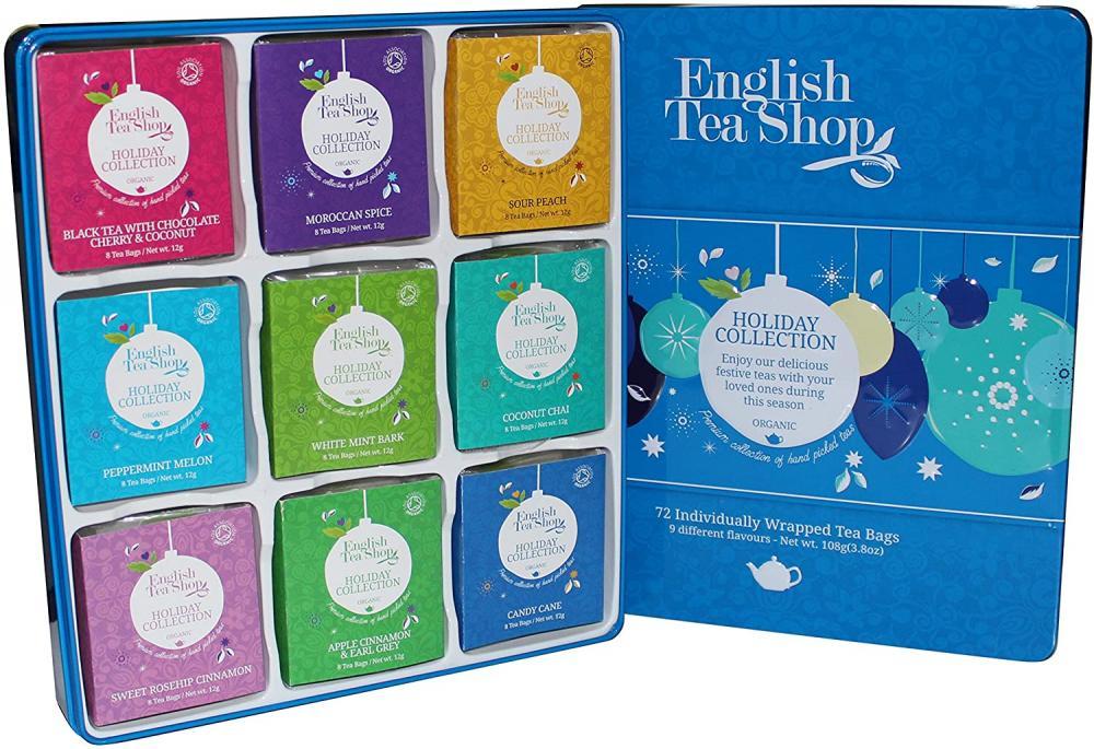 English Tea Shop Organic Holiday Collection Teas 108g