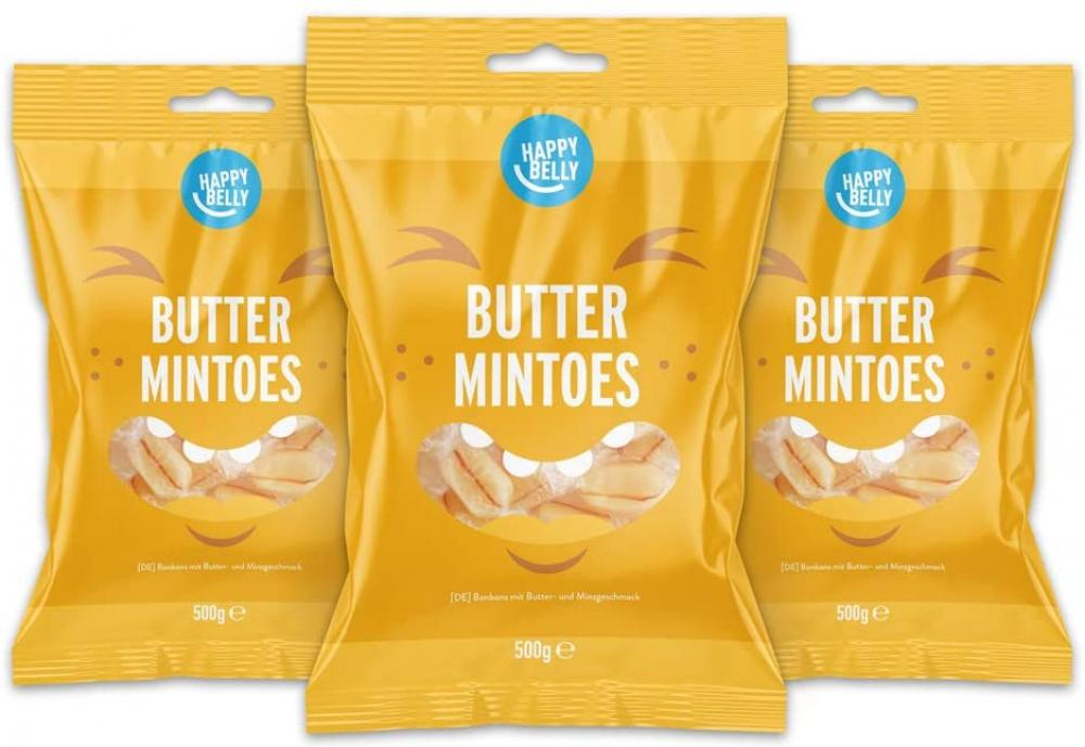 Happy Belly Butter Mintoes 500g