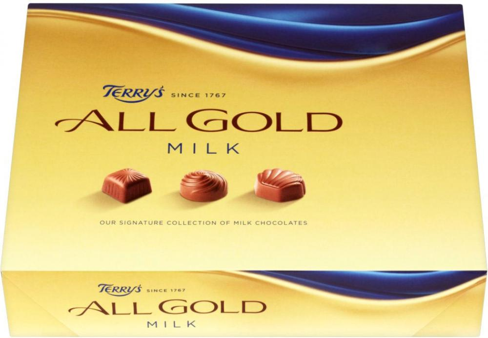 Terrys All Gold Milk Chocolates 380g
