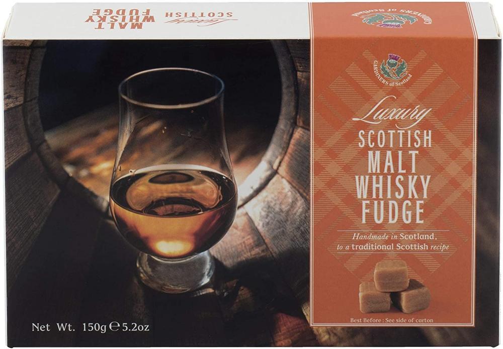 Gardiners Scottish Malt Whisky Fudge 150g