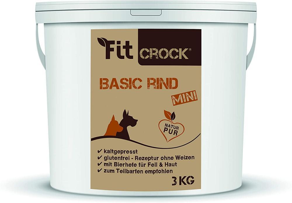 SALE  cdVet Fit-Crock Basic Beef Mini 3kg
