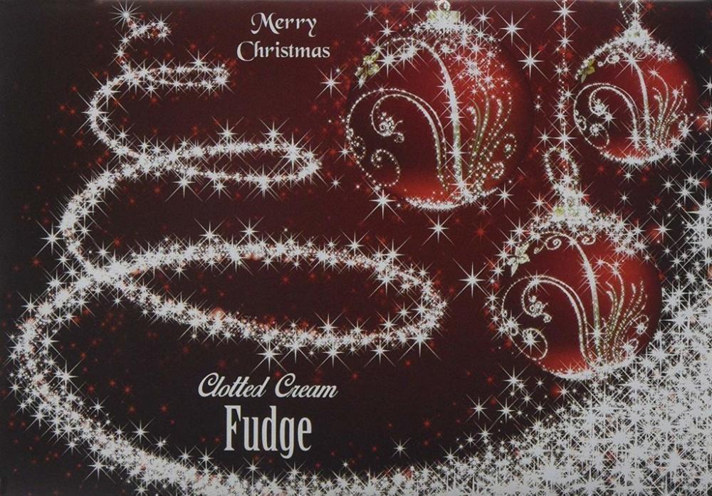 Farrahs Merry Christmas Clotted Cream Fudge Box 170g