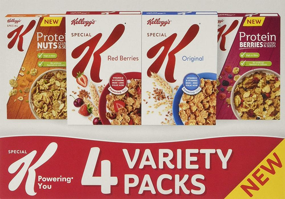 Kelloggs Special Variety Pack 2x40g 2x30g