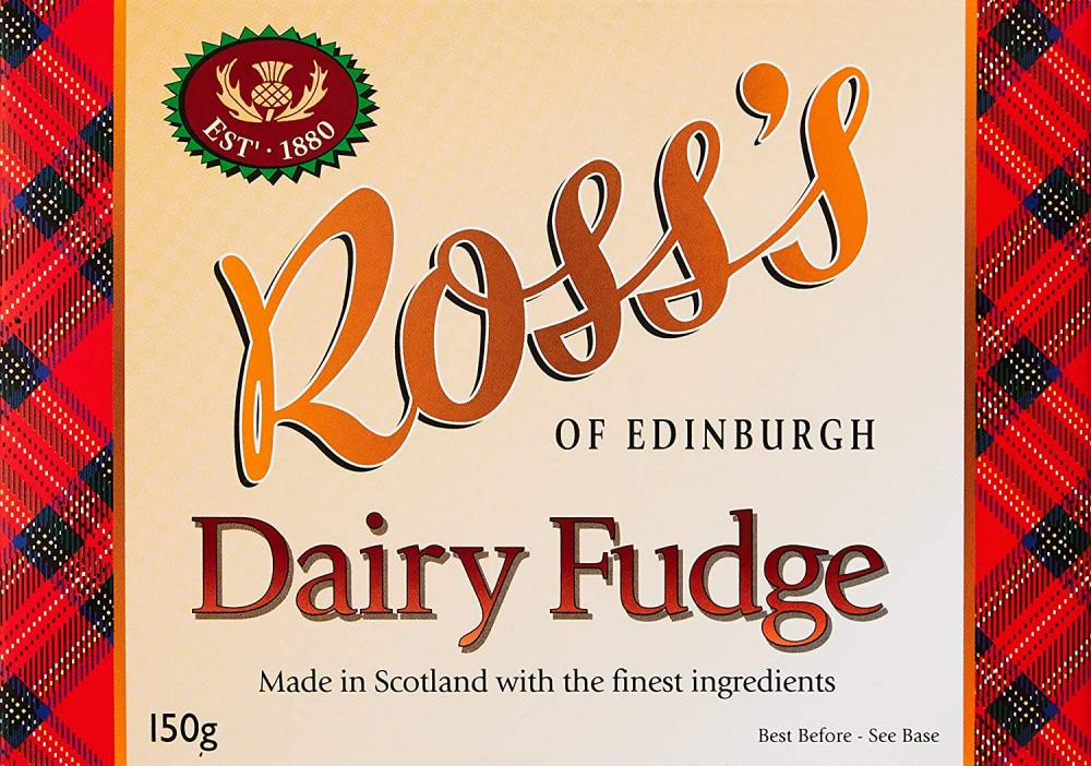 SALE  Rosss of Edinburgh Dairy Fudge Gift Box 150g