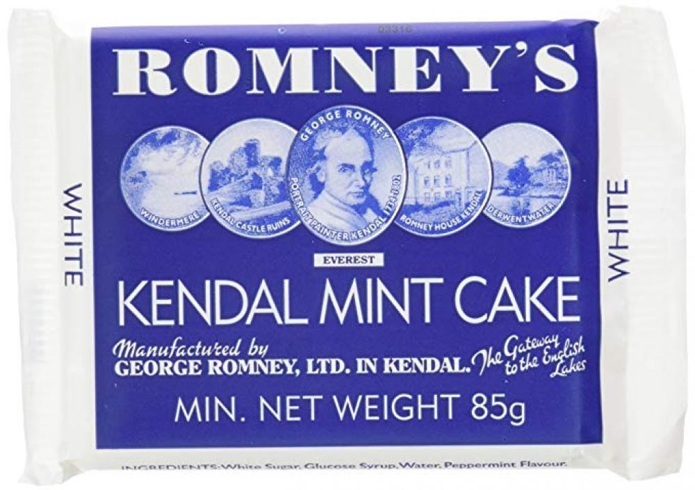 Romney White Kendal Mint Cake 85g