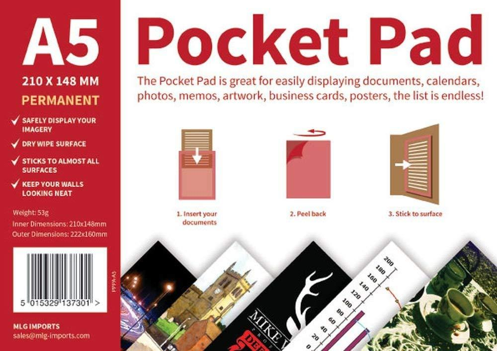 Unbranded A5 Permanent Pocket Pad