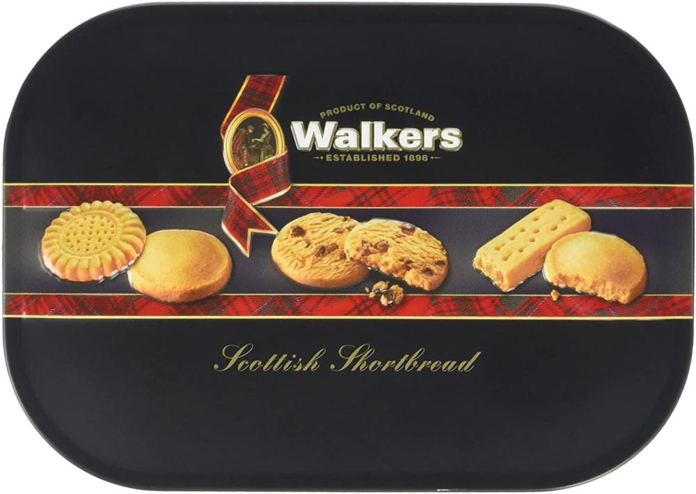Walkers Tin Shortbread Assortment Keepsake Tin 130g