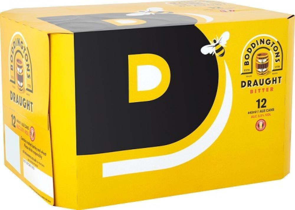 Boddingtons Draught Bitter 440ml x 12