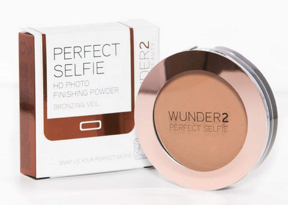 WUNDER2 Perfect Selfie HD Photo Finishing Powder Bronzer Bronzing Veil 7g