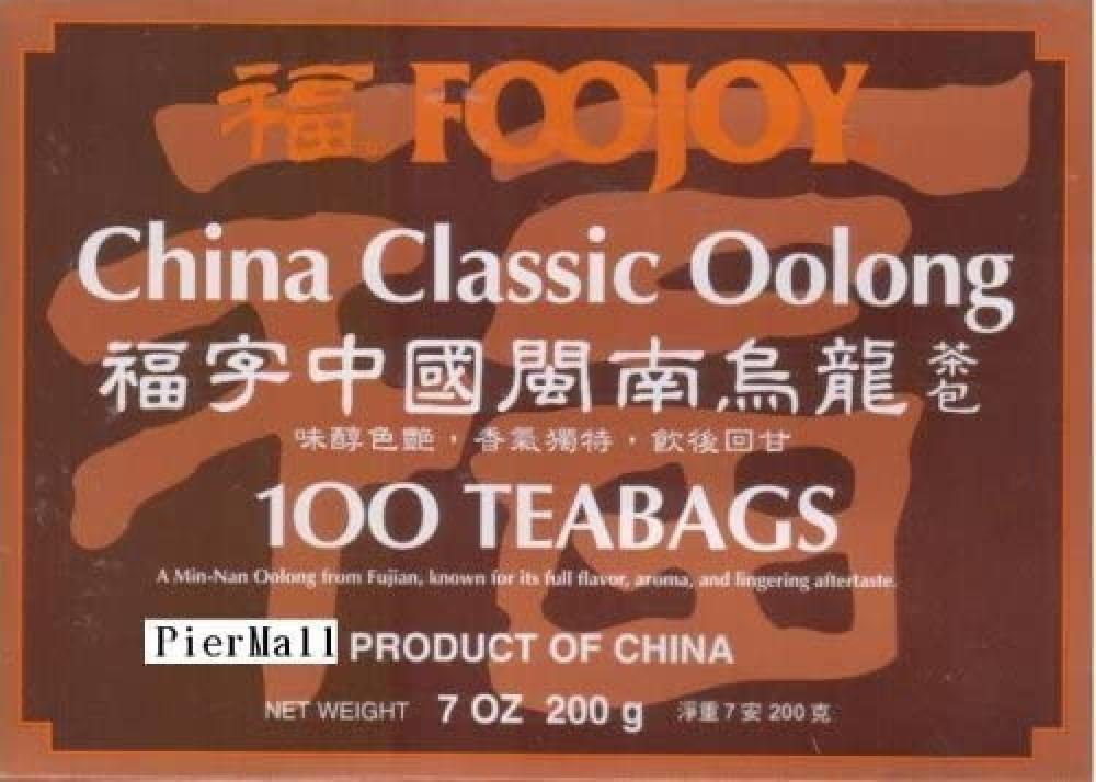 Foojoy China Classic Oolong Tea 100 teabags