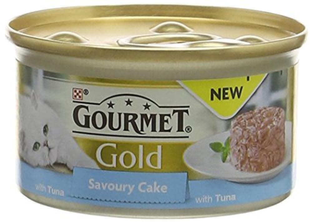 Gourmet Cat Adult Food Gold Savoury Cake Lucky Dip 85g
