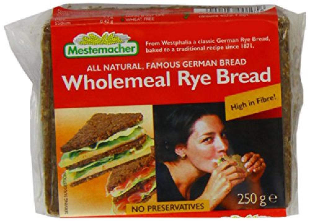 Mestemacher Rye Bread 250 g