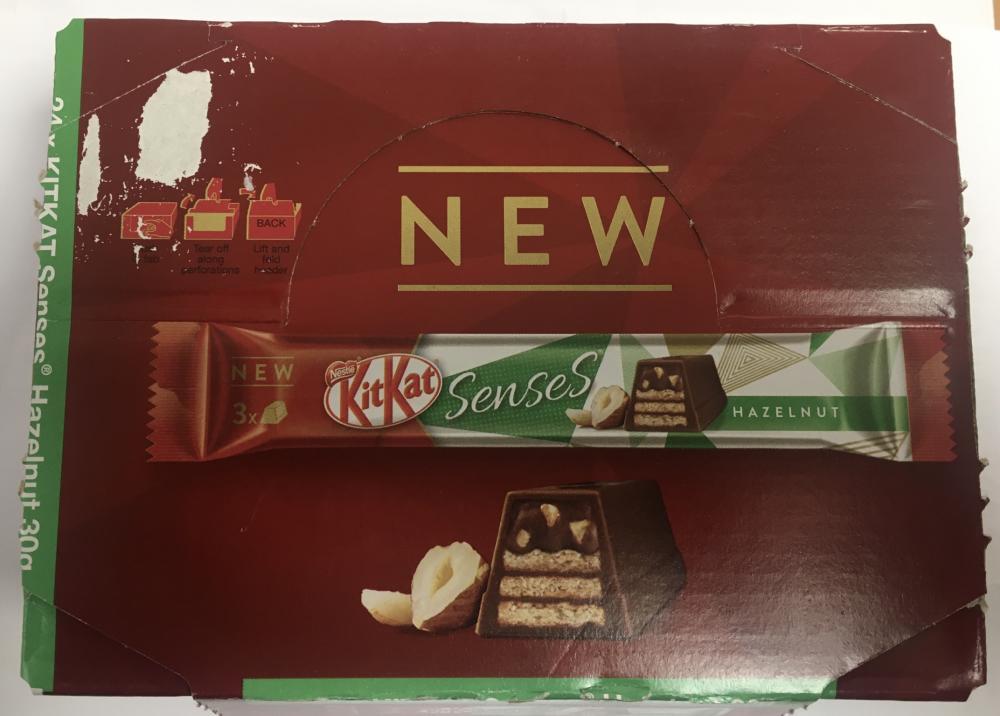 CASE PRICE  Nestle Kitkat Senses Hazelnut 24 x 30g
