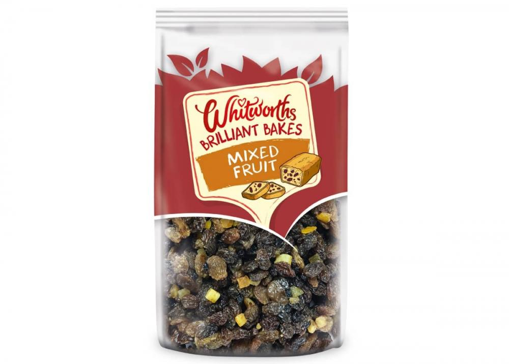 Whitworths Brilliant Bakes Mixed Fruit 300g