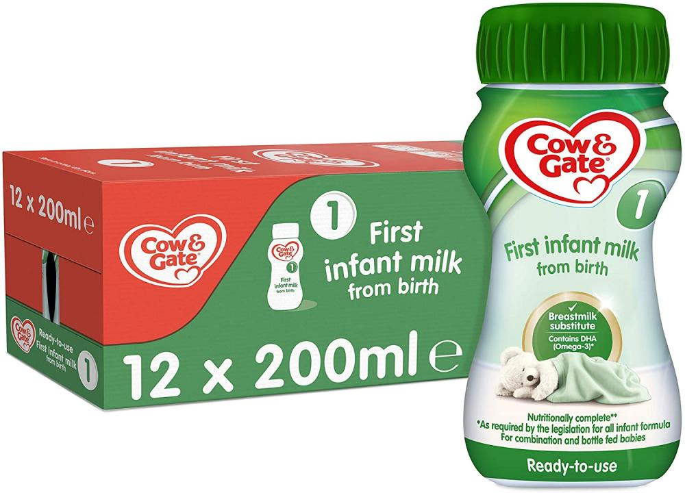 Cow and Gate 1 First Infant Milk 200ml