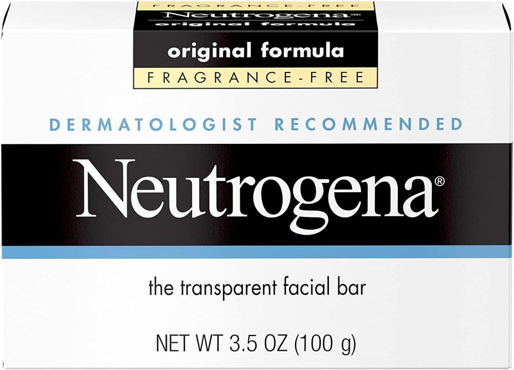 Neutrogena Transparent Facial Bar Fragrance-Free 100 g