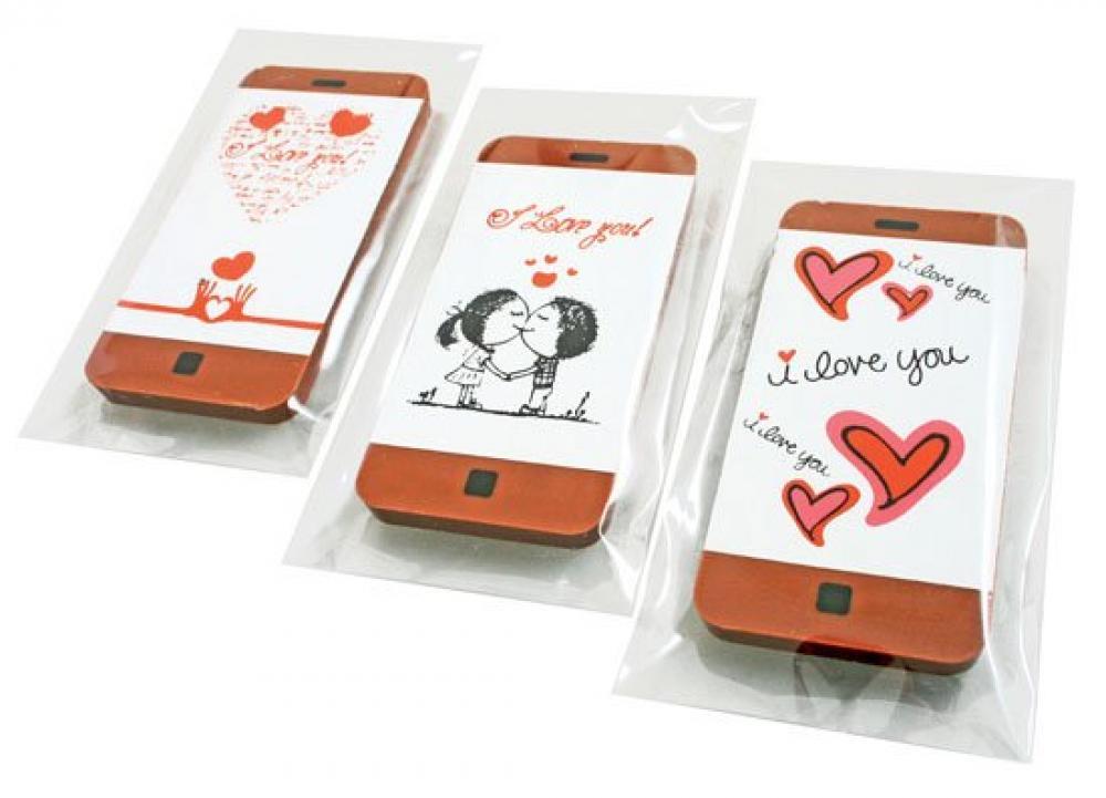Unbranded Valentine Chocolate Smartphone 30g