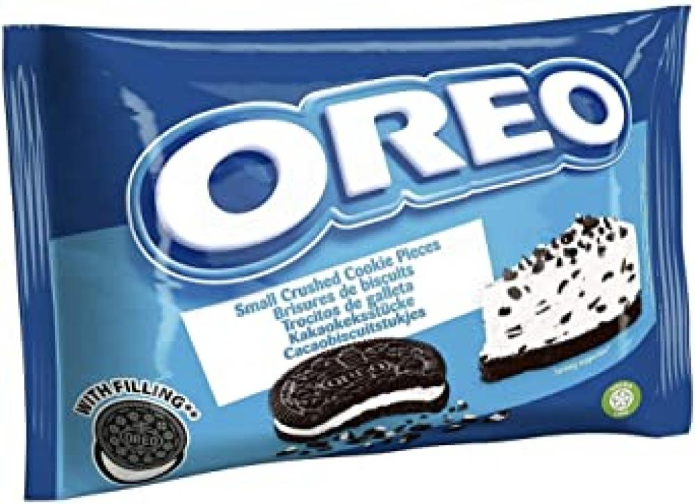 Oreo Crushed Biscuits with Vanilla Flavour Filling 400g