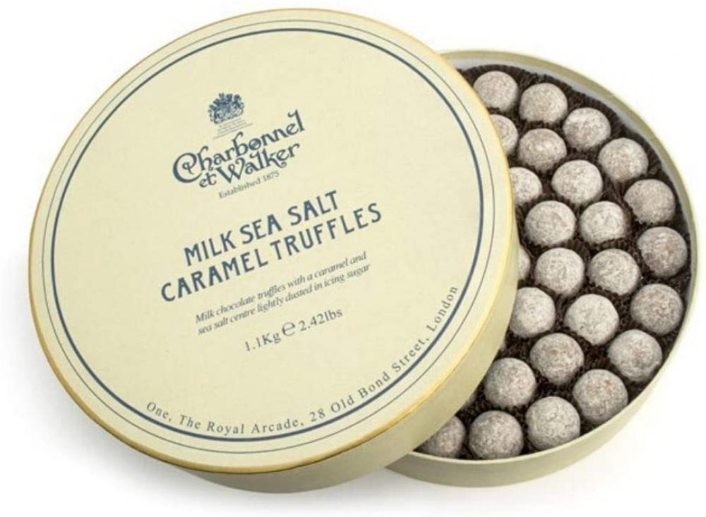 Charbonnel Et Walker Sea Salt Milk Caramel Truffles 1.1 kg